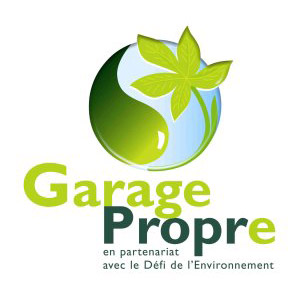 Label-garage-propre